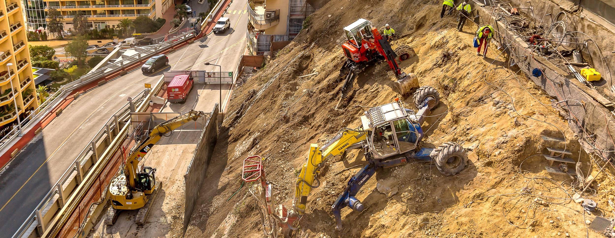 Travaux CAN Monaco Travaux accès difficiles