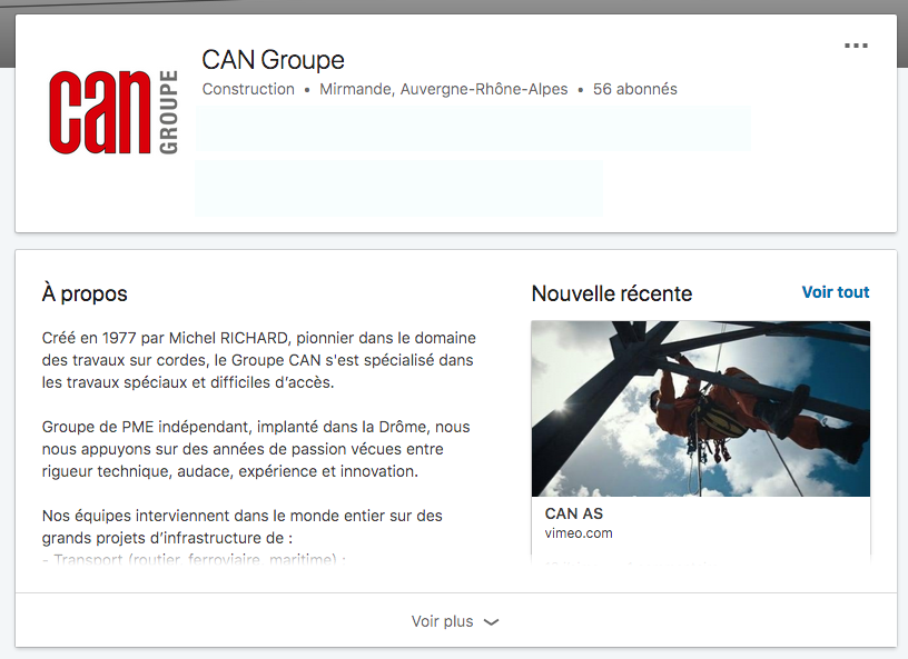News LinkedIn Can Groupe